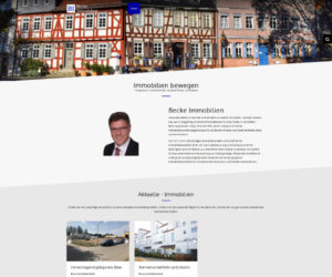 Becke Immobilien Bad Vilbel Screenshot