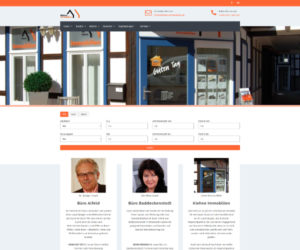 Kiehne Immobilien Screenshot